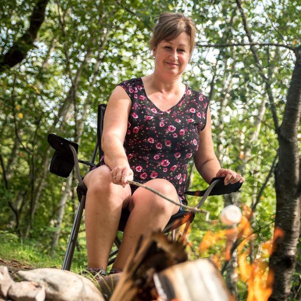 Sylvie-Camping